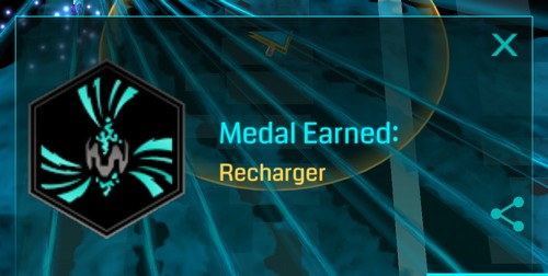 onyx recharger badge